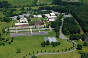 Aerial view of the WPCC campus