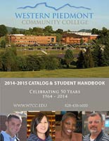 Cover of the 2014-15 WPCC Catalog