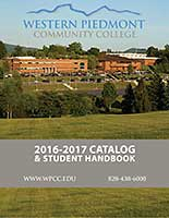 Cover of the 2016-2017 WPCC Catalog