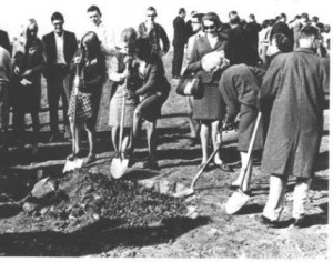 Photo of Groundbreaking of WPCC's first building