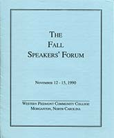 Speakers Forum Cover