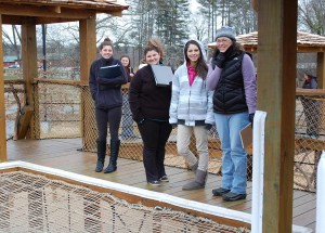 Recreational Therapy Students at Playground