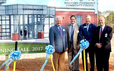 WPCC Breaks Ground on New Mechatronics Building