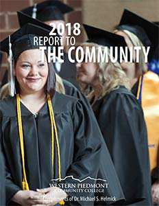Cover of the 2018 Report to the Community