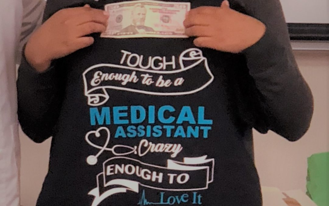 WPCC Medical Assistant Student Wins Contest
