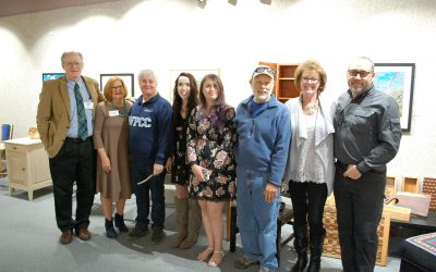 WPCC Students and Faculty Participate in Burke Arts Council Exhibition