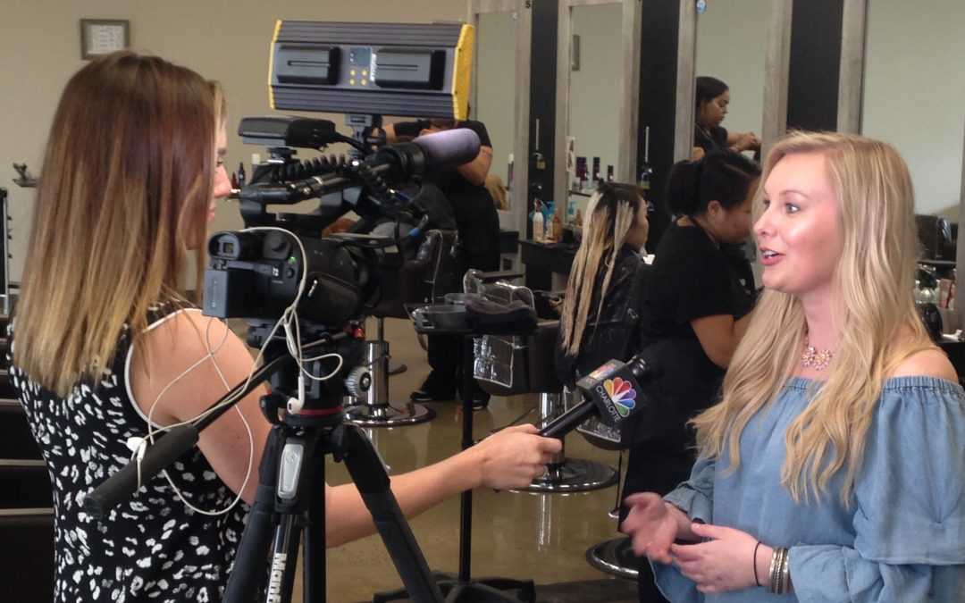 Cosmetology Students Receive Media Attention for Giving Back