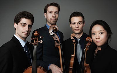 Foundation Hosts Tesla Quartet Performance September 25