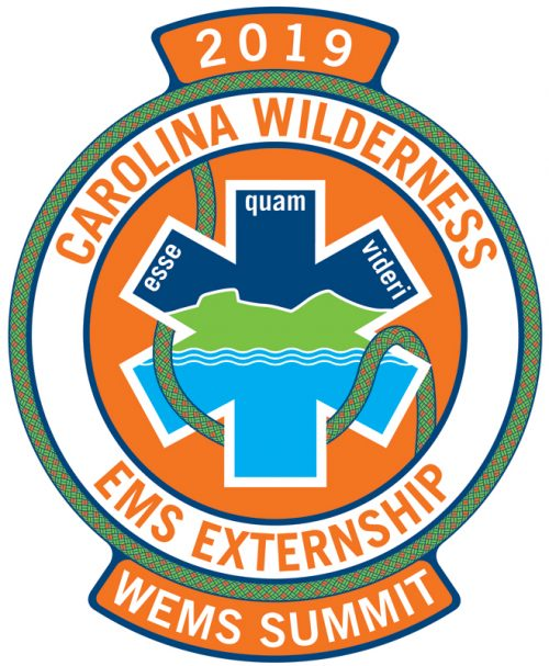 Logo for the 2019 Wilderness Rescue EMS Summit, scheduled for September 21 and 22, 2019