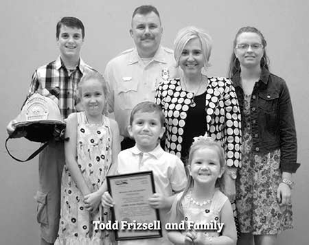 Photo of Todd Frizsell and Family