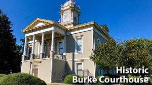 Photo of the Historic Burke Courthouse
