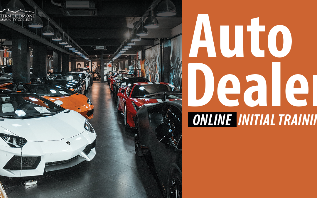Auto dealer training offered online this December at WPCC