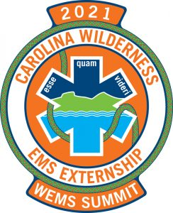 2021 Carolina Wilderness EMS Externship Logo