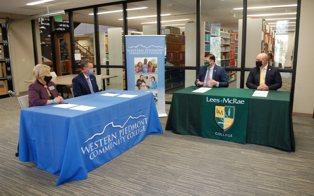 WPCC enters Guaranteed Admission Program with Lees-McRae College