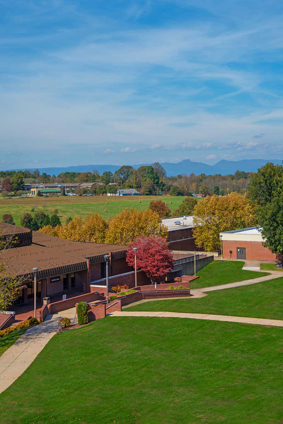 WPCC's Main Campus in fall